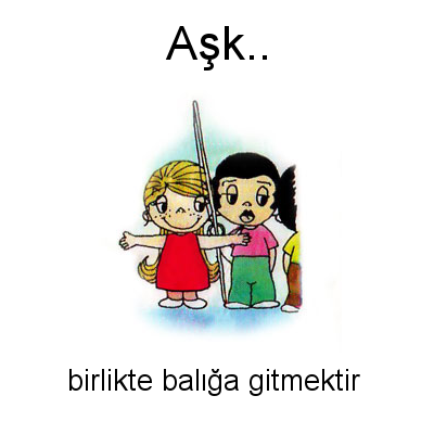 Aşk... Love is... #96