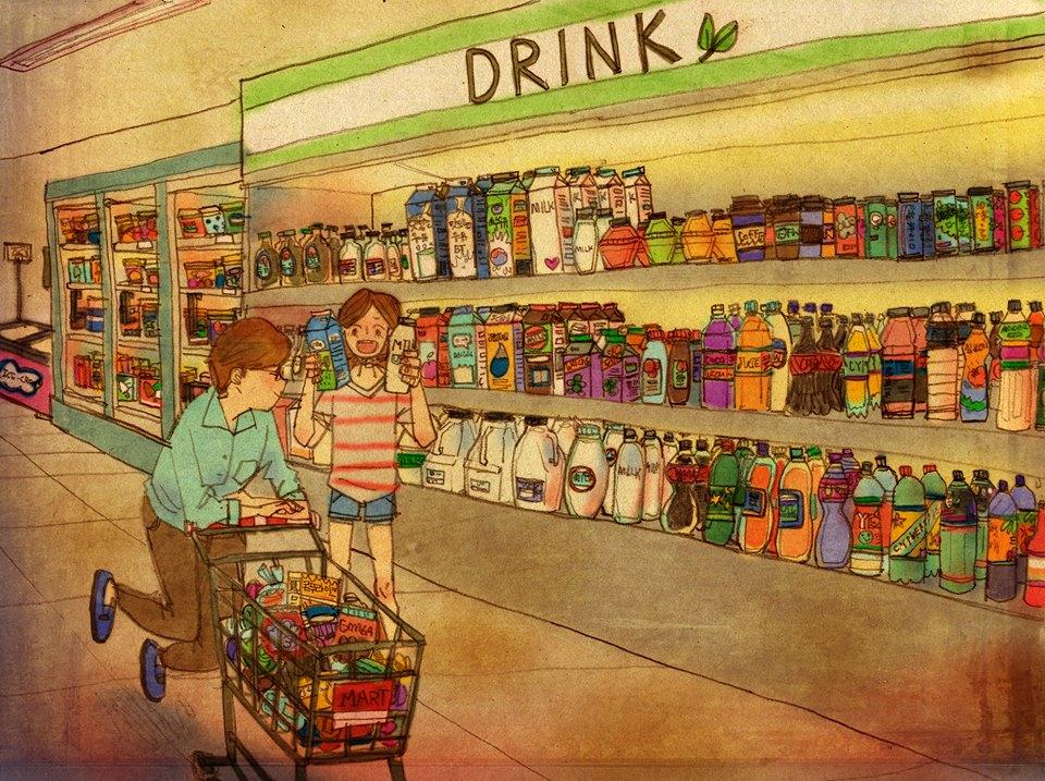Aşk Birlikte Alışveriş Yapmaktır