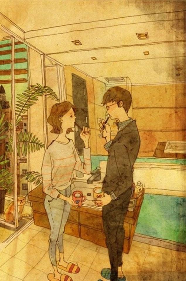 Aşk Birlikte Diş Fırçalamaktır