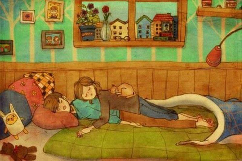 Aşk Birlikte Uyumaktır