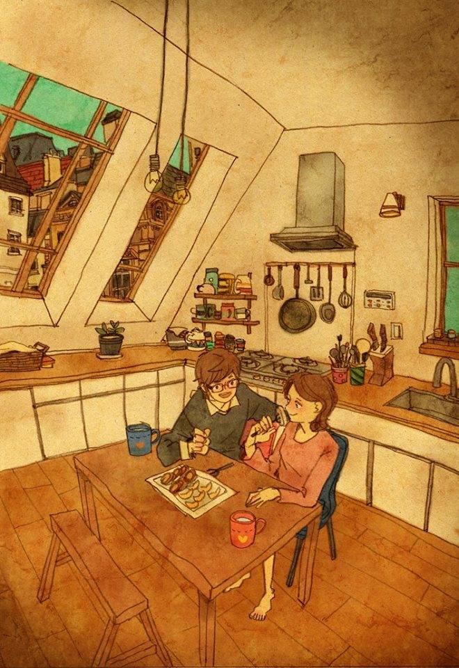 Aşk Birlikte Yemek Yemektir