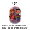 Aşk... Love is... #116