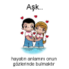Aşk... Love is... #121