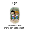 Aşk... Love is... #128