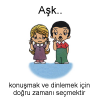 Aşk... Love is... #132